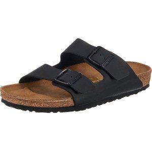 BirkenstockArizona 两扣拖鞋 黑色