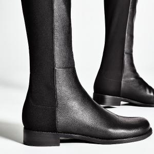 额外7.5折 马丁靴$375Stuart Weitzman 美靴热卖  收码全Lowland、5050类似款