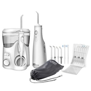 Waterpik Ultra Plus and Cordless Select Water Flosser Combo Pack
