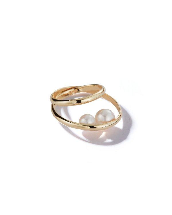 14k Gold 珍珠戒指