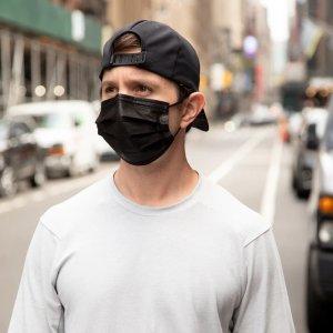 Black 3-PLY Face Mask