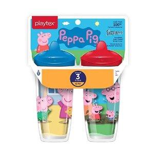 额外8折Playtex 宝宝3阶段吸水杯,9盎司*2个装