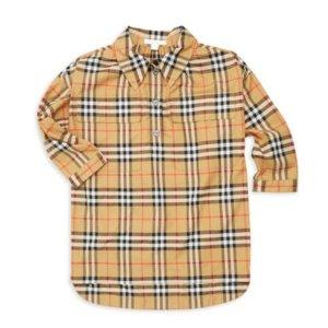 低至4.7折  衬衫$60.7起 外套$130Burberry 儿童折扣区全部上新 春夏新款都打折