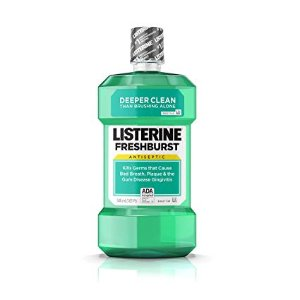$3.97Amazon Listerine Freshburst Antiseptic Mouthwash 500ml