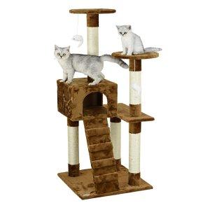 Go Pet Club 52英寸猫爬树