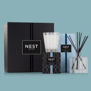 定价优势+全线变相低至6.9折Nest 家用香薰 收杏树红茶扩香 淡淡温暖奶香 丝绒梨蜡烛