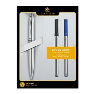 54% OffExclusive Calais Polished Chrome Rollerball Pen with 2 Bonus Refills @ A.T.Cross