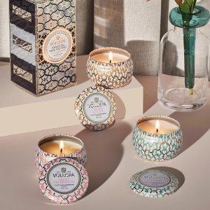 Voluspa花果香型~Maison Blanc 迷你蜡烛3件套