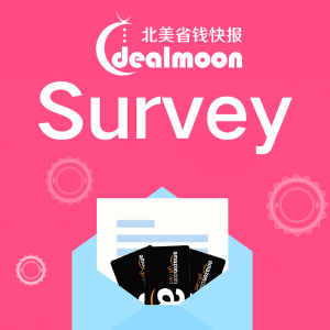 April 2019Dealmoon English Page Survey