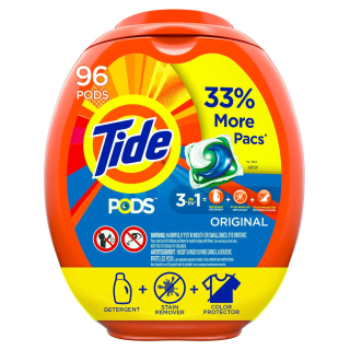 $16.08Tide Pods 三效合一果冻洗衣球加大装 96个 多款可选