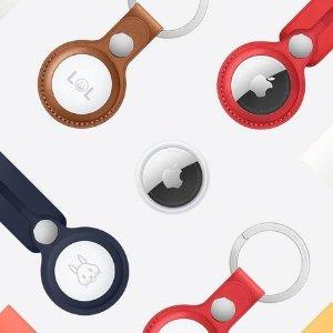 $39.99包邮 $129收4个上新:Apple AirTag 防丢神器亚马逊开售 轻松追踪各种物品