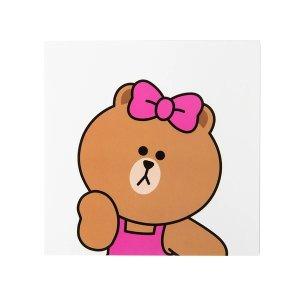 Line Friends丘可熊 祝福卡