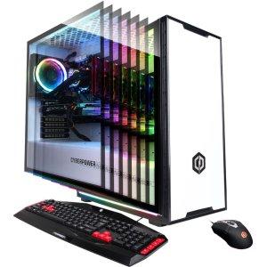 CyberPowerPC Desktop (R7 3700X, 2070S, 16GB, 240GB+2TB)