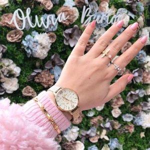 5折 €42起收经典款仙气儿手表Olivia Burton INS爆款闪促 颜值爆表的英伦风