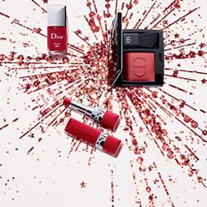 全场满€89享7.5折Dior 全线彩妆大促 收圣诞限定、 999新年开运红等热门单品