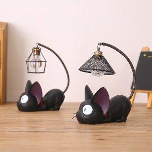 7.5折 包邮超萌吉吉猫造型小夜灯和风铃促销