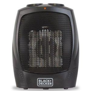 $19.99黑五价:BLACK+DECKER 小型陶瓷暖气扇