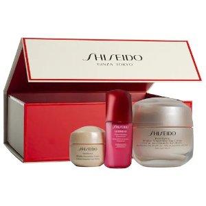 Shiseido补货!价值$136盼丽风姿3件套
