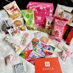 每月20-25包Bokksu 经典零食3个月