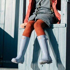 低至5折+额外8.5折 雨靴$30最后一天:Hunter 官网儿童 雨鞋雨衣等热卖 切尔西靴$40