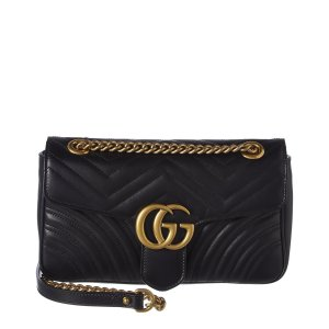 GucciGG Marmont Small Matelasse Leather Shoulder Bag