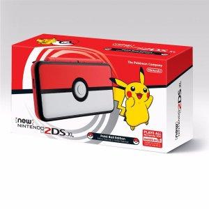 $159.99 Pre-Order Now New Nintendo 2DS XL Poké Ball Edition