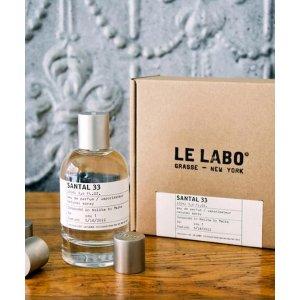 Le Labo大瓶更划算!33号檀香香水 100ml