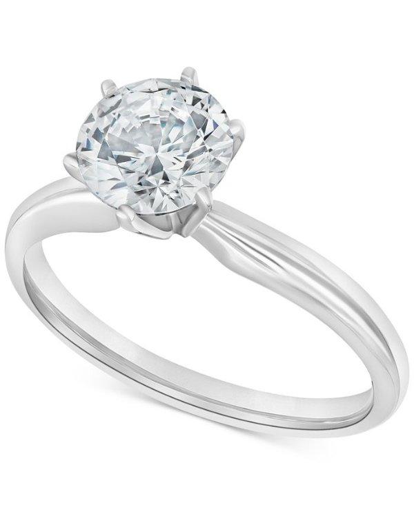 2克拉钻石戒指