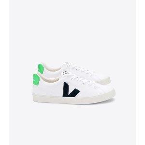Veja绿尾小白鞋