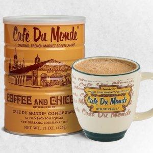 $6.93 新奥尔良必刷咖啡店Cafe Du Monde 经典法式咖啡 15盎司