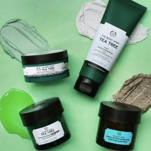 全场65折 囤茶树精油、接骨木眼胶The Body Shop 夏季大促 护肤、洗护用品大促