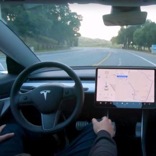 未来真的要来了吗Tesla全自动驾驶演示视频公布