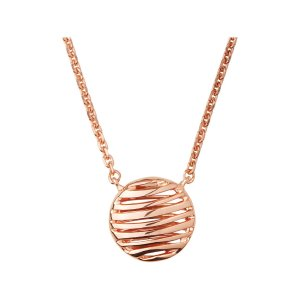 Links of LondonThames 18K Rose Gold Vermeil Necklace