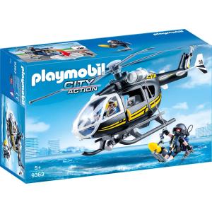 德国Playmobil 9363飞虎直升机,低于半价