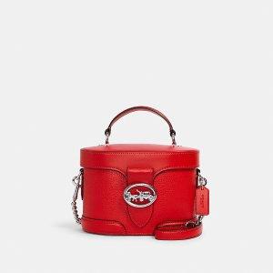 CoachGeorgie 盒子包 红色
