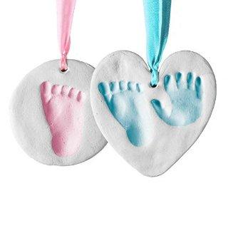 $12.24闪购:新生儿手脚印泥套装 男女宝宝都适用