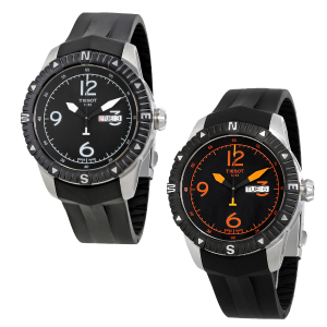 Extra $100 OffDealmoon Exclusive: TISSOT T-Navigator Automatic Black Dial Men's Watches