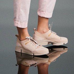 低至6折+额外7折 三瓣鞋$42起折扣升级:Clarks 精选男士女士美鞋热卖
