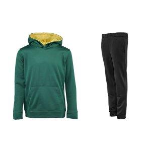 $17包邮Champion 男大童卫衣裤子套装 多色可选