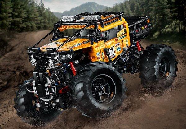 四驱极限越野车- 42099 | 机械组系列