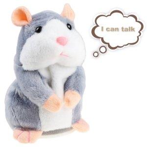 $12.78(原价$24.77)闪购:IDEAPRO 会说话的小仓鼠毛绒玩具