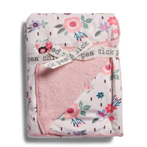 Baby Printed Mink Blanket