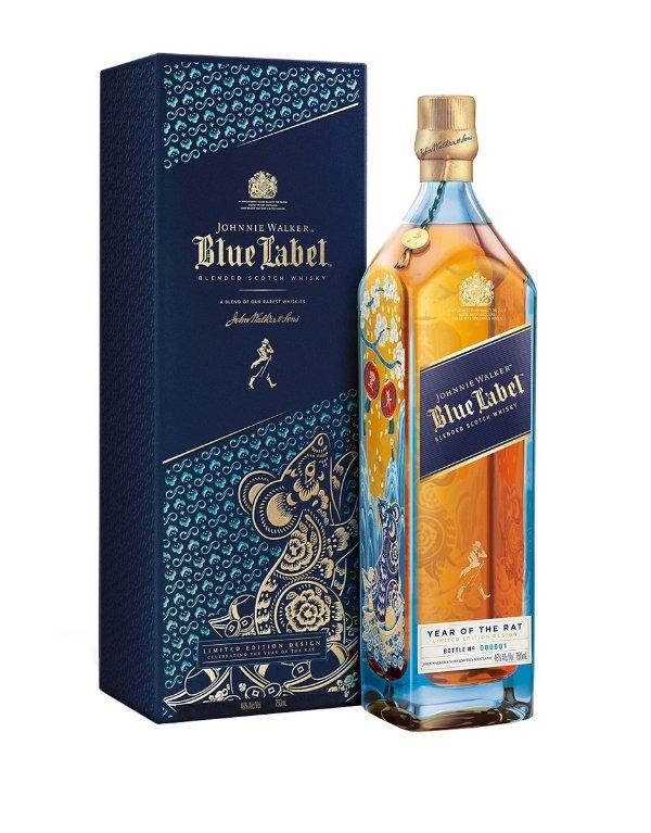 鼠年限量款蓝方威士忌 750ml