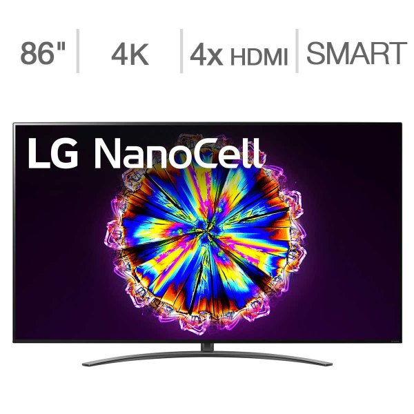 "86"" Class - NANO91 Series - 4K UHD LED LCD TV - $100 Allstate Protection Plan Bundle Included"