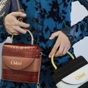 最高立减€500+包税直邮中国Chloe 美包美鞋变相低至7.5折热卖,C字包奶茶杏仅€999