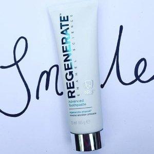 限时67折黒五价:Regenerate 口腔修护美白产品热卖 从根部解决牙黄的牙膏