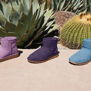 低至4折 封面$99.99上新:UGG Australia 折扣区鞋子、服饰等新款加入