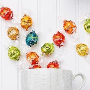 7.5折 秋季南瓜主题款$14.99Lindt Lindor 松露巧克力球限时特卖,多口味可选