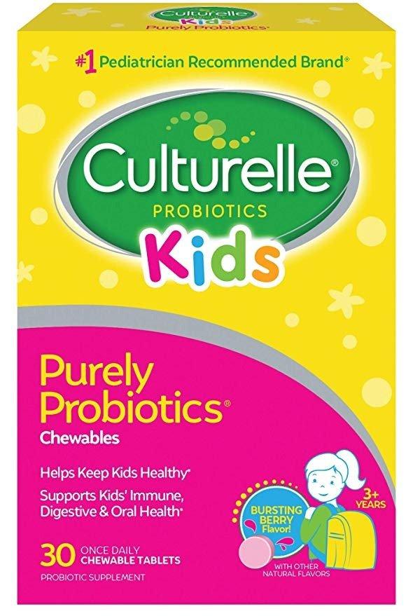 儿童益生菌咀嚼片30片