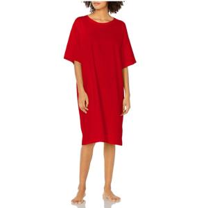 $9.99起白菜价:Hanes 宽松短袖纯棉睡裙 多色可选